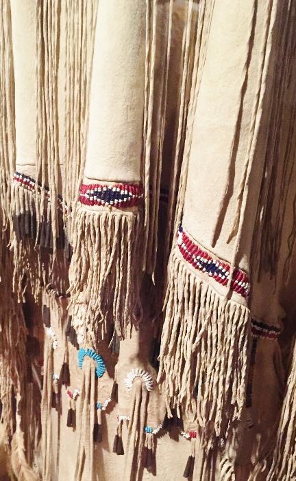 Detail of Native American (Apache) Dress