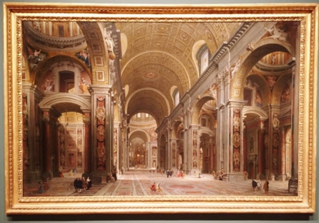 Interior of St. Peters, Rome
