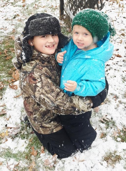 Wooo snow!