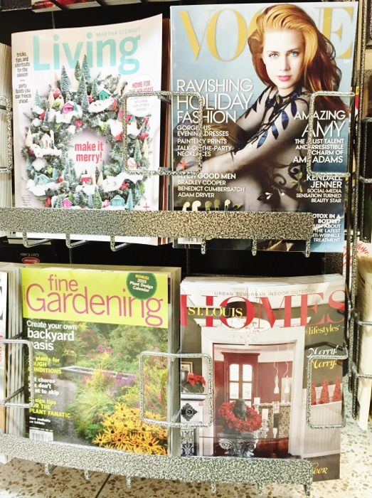 St Louis Homes and Lifestyles Magazine on the rack! Featuring Spy Garden!