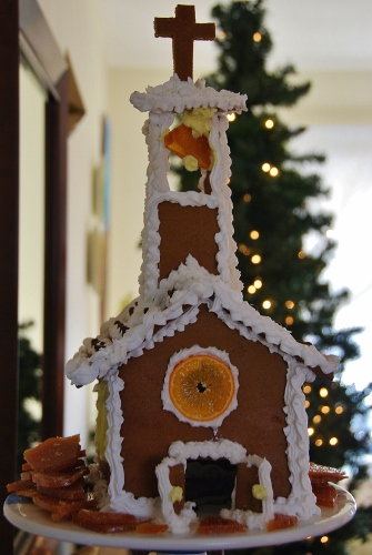 Gingerbread Church (2013)