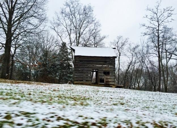 Old Barn near Spy Garden
