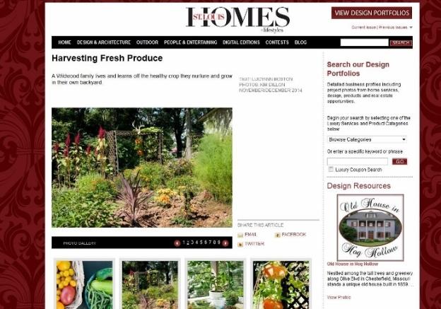 Spy Garden on stlhomesmag.com !