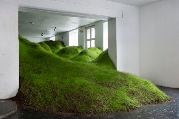 Not Red But Green Installation at NoPlace Oslo. 2014. Per Kristian Nygård (source of image)