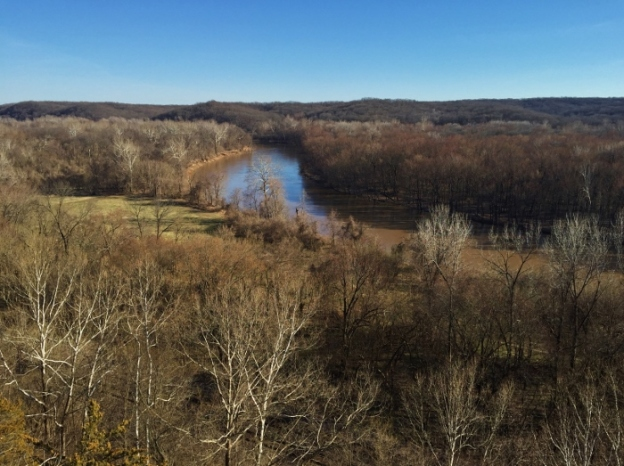 The view at Castlewood State Park
