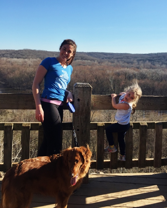 Aunt Alison (and Maggie) and Baby and I enjoyed a shorter hike in Castlewood this week