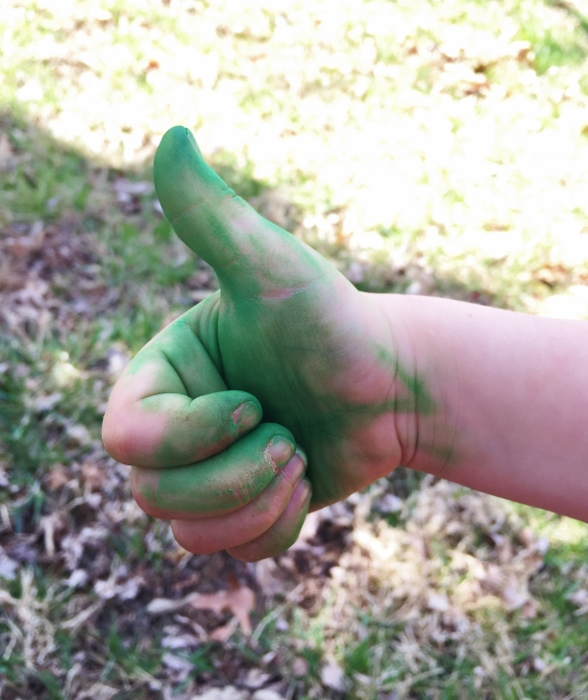 Green Thumbs Up!