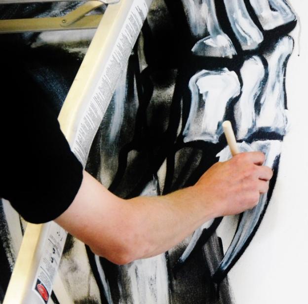 ROA painting