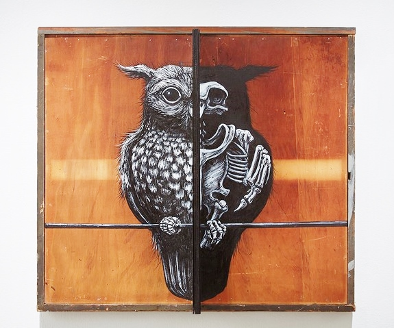 Roa, Strigiformes (source of image: Jonathan Levine Gallery)