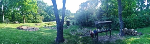 Spy Garden panorama