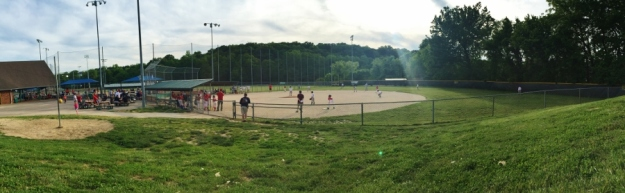 Baseball Panorama Field #7