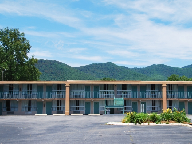 We also explored Black Mountain, NC with easy walking access from this cheap and convenient hotel