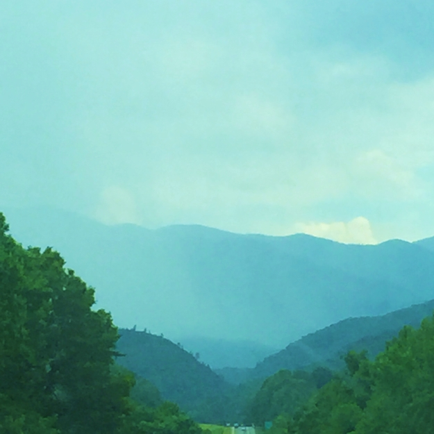 Finally! Into the smoky mountains we go!