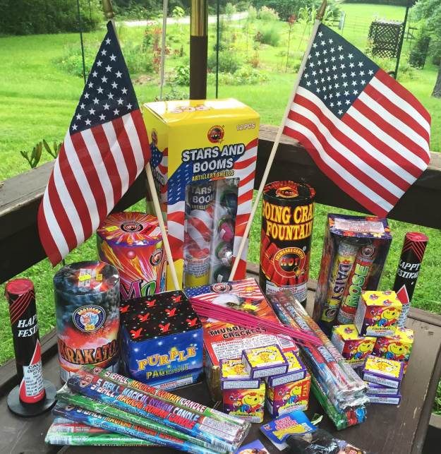 What's more American than fireworks and flags made in China!?