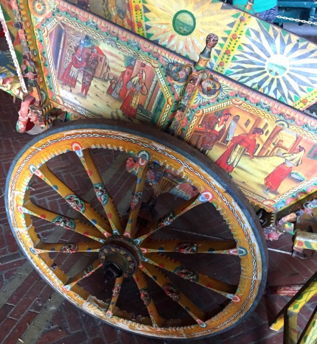 Pretty, ornate carts