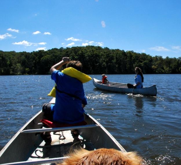 I love canoes!