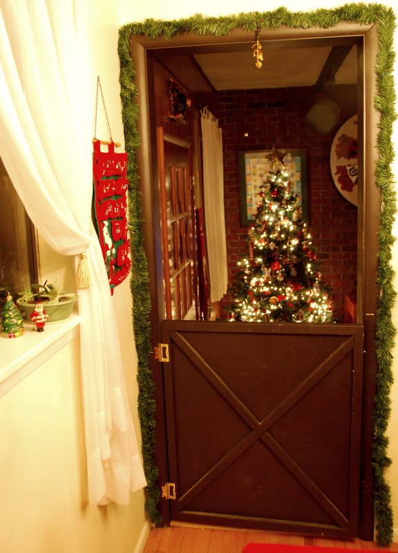 Entrance to the man cave Christmas Cove