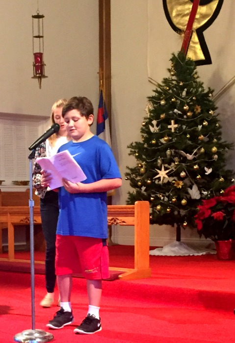 Practicing reading for the service
