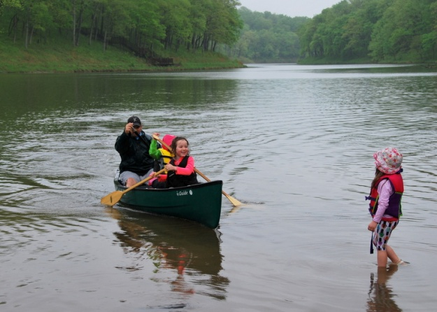 Who doesn't love a canoe ride?!