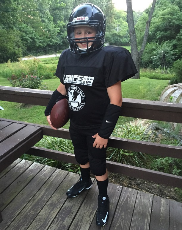 Baseball season officially just ended! Here comes football! Aggghhh! (he is ready but I don't think I am!)