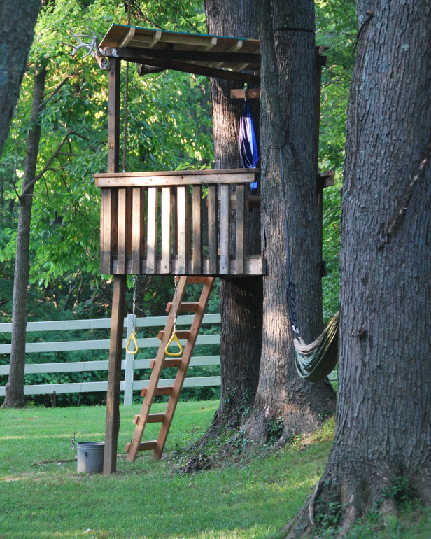 And check out the upgrades to the tree house!