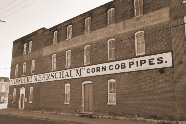 A very cool old building in downtown Washington, MO
