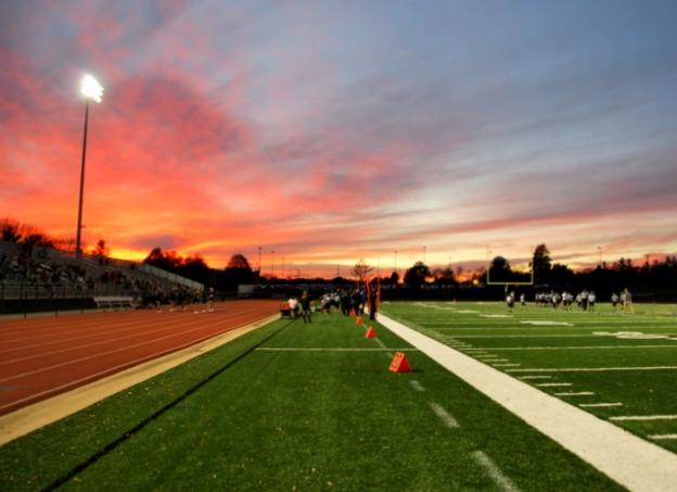 Game at Sunset