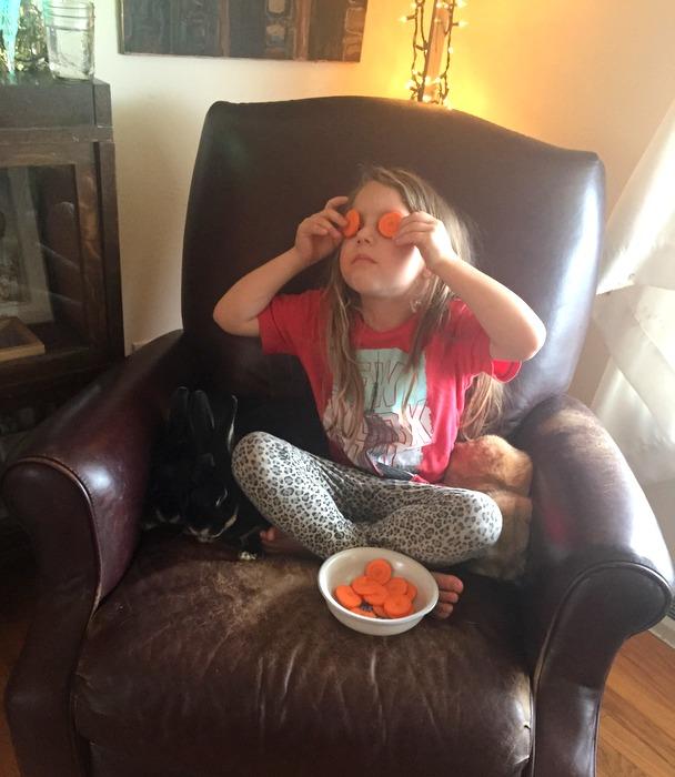 Mmm carrots!