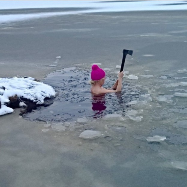 Sometimes you have to make your own pool (Source: @oskarinranta)