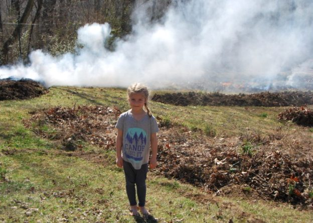 Her class is starting a project about fire so she will bring a print out of this for her class to show them how fire can be used in the garden.
