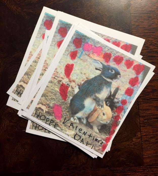 Bunny valentines