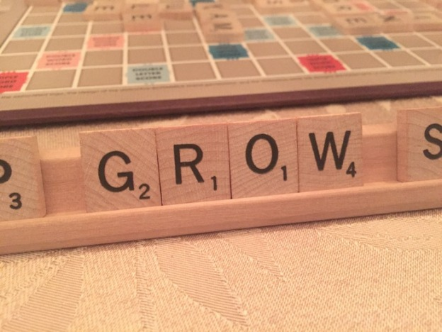 Even scrabble is telling me it's spring!